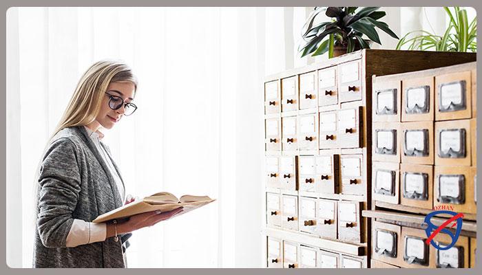 فهرست نویسی در کتابخانه ها