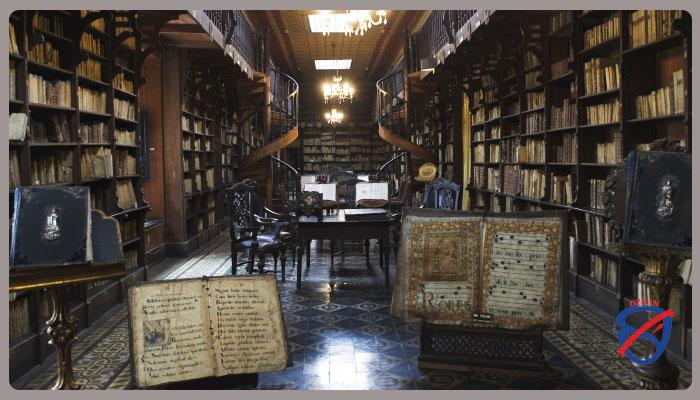 تاریخچه کتابخانه