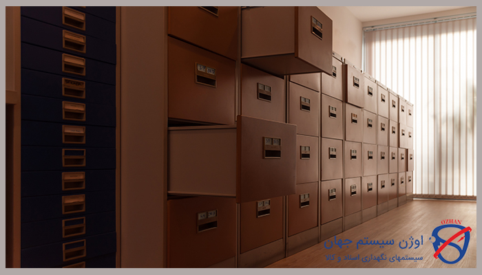 انواع کمد بایگانی اداری و کاربردهای آن