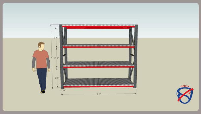 استاندارد قفسه بندی انبار