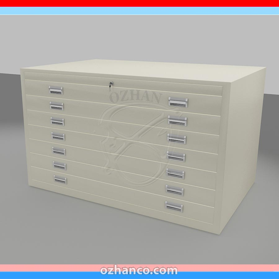 MAP CABINETS | PLAN DRAWING STORAGE|FLAT FILE DRAWER CABINETS