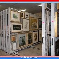 قفسه آویز تابلو و عکس